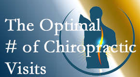 It's up to you and your pain as to how often you see the Fernandina Beach chiropractor.