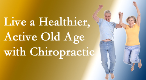 Amelia Chiropractic Clinic welcomes older patients to incorporate chiropractic into their healthcare plan for pain relief and life's fun.