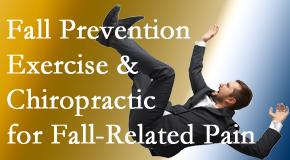 Amelia Chiropractic Clinic shares new research on fall prevention strategies and protocols for fall-related pain relief.