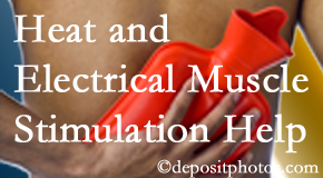 Amelia Chiropractic Clinic uses heat and electrical stimulation for Fernandina Beach pain relief.