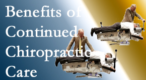 Amelia Chiropractic Clinic offers continued chiropractic care (aka maintenance care) as it is research-documented to be effective.
