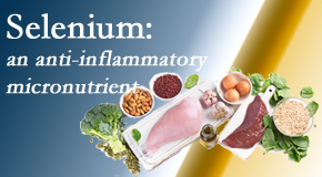 Amelia Chiropractic Clinic shares information on the micronutrient, selenium, and the detrimental effects of its deficiency like inflammation.