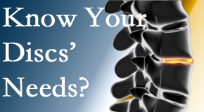 Your Fernandina Beach chiropractor thoroughly understands spinal discs and what they need nutritionally. Do you?
