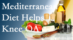 Amelia Chiropractic Clinic shares recent research about how good a Mediterranean Diet is for knee osteoarthritis as well as quality of life improvement.
