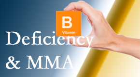 Amelia Chiropractic Clinic knows B vitamin deficiencies and MMA levels may affect the brain and nervous system functions.