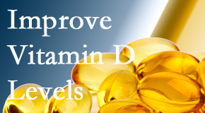 Amelia Chiropractic Clinic explains that it's beneficial to raise vitamin D levels.