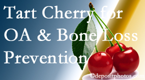 Amelia Chiropractic Clinic shares that tart cherries may enhance bone health and prevent osteoarthritis.