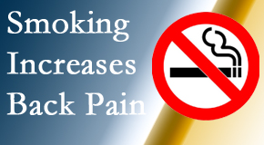 Amelia Chiropractic Clinic explains that smoking heightens the pain experience especially spine pain and headache.