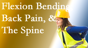 Amelia Chiropractic Clinic helps workers with their low back pain due to forward bending, lifting and twisting.