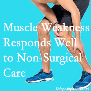 Fernandina Beach chiropractic non-surgical care often improves muscle weakness in back and leg pain patients.