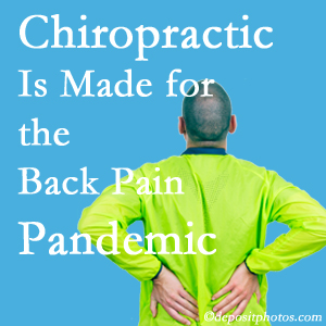 Fernandina Beach chiropractic care at Amelia Chiropractic Clinic is prepared for the pandemic of low back pain.