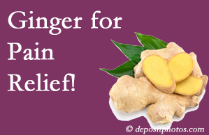 Fernandina Beach chronic pain and osteoarthritis pain patients will want to investigate ginger for its many varied benefits not least of which is pain reduction.