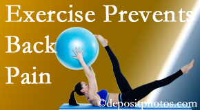 Amelia Chiropractic Clinic suggests Fernandina Beach back pain prevention with exercise.