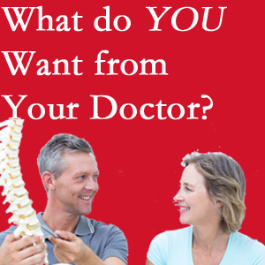 Fernandina Beach chiropractic at Amelia Chiropractic Clinic includes examination, diagnosis, treatment, and listening!