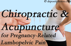 Fernandina Beach chiropractic and acupuncture may help pregnancy-related back pain and lumbopelvic pain.