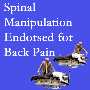Fernandina Beach chiropractic care involves spinal manipulation, an effective,  non-invasive, non-drug approach to low back pain relief.