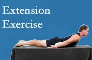 Amelia Chiropractic Clinic recommends extensor strengthening exercises when back pain patients are ready for them.