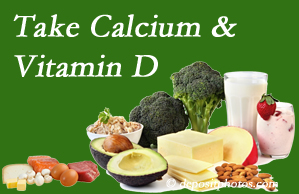 Amelia Chiropractic Clinic urges osteoporotic and osteoarthritic patients to take calcium and vitamin D to prevent fractures and save money.