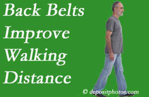 Amelia Chiropractic Clinic sees benefit in recommending back belts to back pain sufferers.