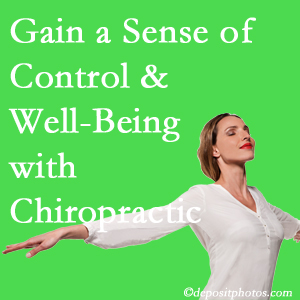 Using Fernandina Beach chiropractic care as one complementary health alternative boosted patients sense of well-being and control of their health.