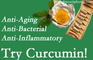 Pain-relieving curcumin may be a good addition to the Fernandina Beach chiropractic treatment plan.