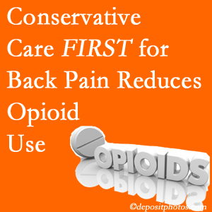 Amelia Chiropractic Clinic delivers chiropractic treatment as an option to opioids for back pain relief.